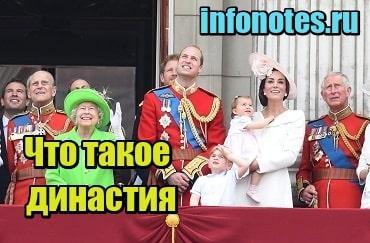 картинка Что такое династия