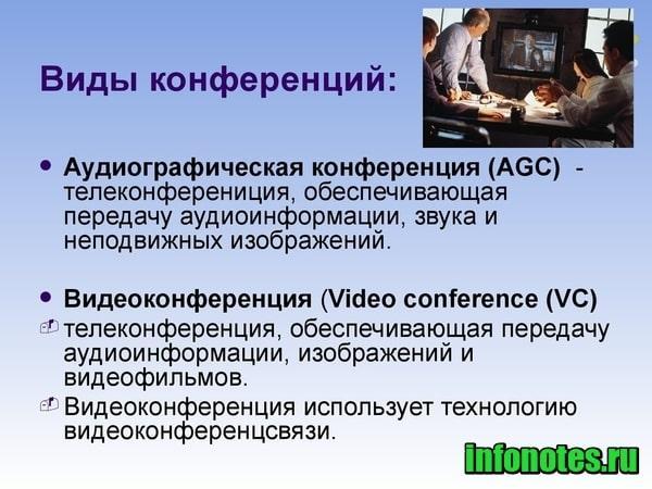 картинка Что такое конференция